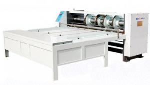 Quality Big Diameter Roller Flexo Printing Slotting Machine / Carton Box Printing Machine for sale