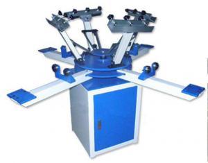 China fabric register printing LC Manual T-shirt printing machine (4 colors) on sale