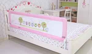 China Full Size Baby Bed Rails Protector With Foldable Aluminum Frame on sale