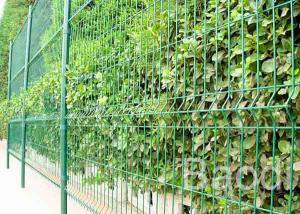 China 3 - 6 Mm Garden Fencing Wire Mesh, Vinyl Coated Welded Wire FencingFor Park on sale