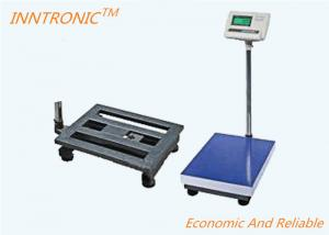China Pipe Frame Platform Bench Scale 350x400mm 150kg With Rechargeable Battery Inside on sale