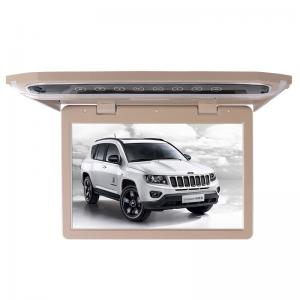 China 1080P Lvds Led Car Roof Mount Monitor Laser Carving Touch Button With SD FM USB HD on sale