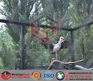 China SW09 Small birds aviary, parrot, macaw zoo mesh, bird nets, hand woven rope mesh on sale
