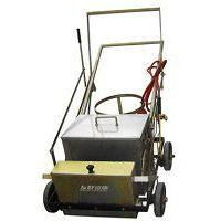 Road marking machine: Zebra crossing heat fusion road marking machine BM-100