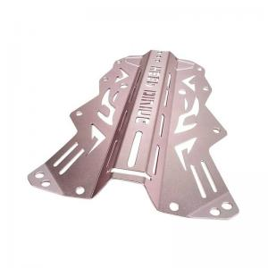 China Aluminum Diving Backplate Metal Stamping Parts Bracket End Cover Automotive on sale