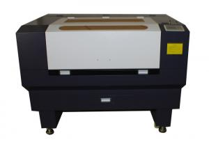China Rubber / stamp / paper / wood laser engraving Machine with CE certificate on sale