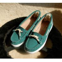 China good quality factory direct selling lady casual flat doug shoes 2017, WOMEN AND MEN DOUG SHOES on sale