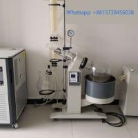 Laboratory Glassware Cooler Roto Vap Extract Glass Distiller Alcohol Solvent Plant Oil Extraction Machine