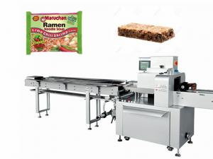 China Multi Row Rice Cake Flow Wrapping Equipment Horizontal  380V / 220V on sale
