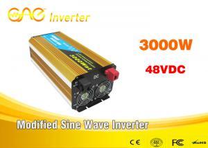 China DC a la CA modificó el inversor portátil del generador del inversor de corriente 3000w 12v/24v 220v del coche de la onda sinusoidal on sale