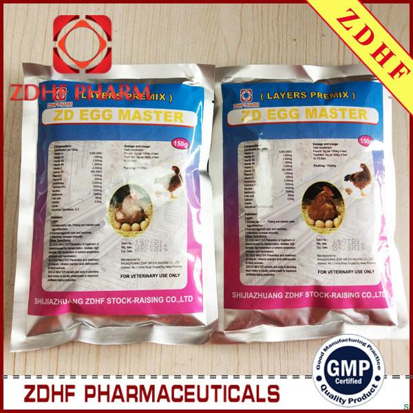 Improve E-gg Shell Quality Production Laying Hen Vitamin Premix for