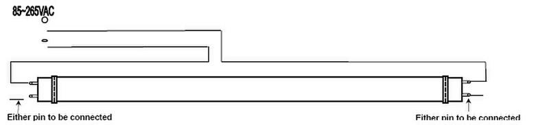 18w 1200mm samsung 5630 led t8 tube light for led tube wiring diagram for led t8 tube light