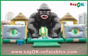 China Giant Disney Inflatable Bouncer With Chimpanzee Shape For Holiday on sale