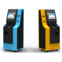 China Free Floor Standing Bank ATM Kiosk , Automated Teller Machine With Cash Dispenser on sale