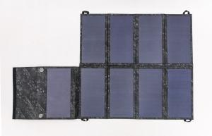 China An Efficient 60W Portable Solar Battery Pack , Waterproof Solar Charger For Mobile Phone on sale