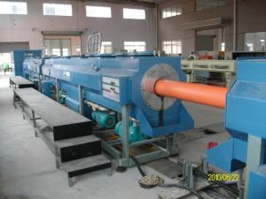 China 630mm Larger Diameter HDPE Pipe Making Machine / Production Line stability With Single Screw Extruder on sale