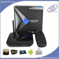 Foisontech Hot Selling TV Box with Processor Rk3288 of Smart TV Box Support H. 265 and 4k TV