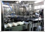 1.5L Pet Bottle Automatic Juice Filling Machine / Aluminum Foil Sealing Machine