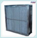 ガラス繊維媒体の高温Hepaフィルター カセット タイプ家のHepaフィルター