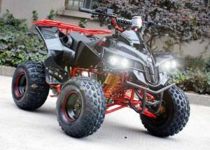 China Single Cylinder 125cc Atv Quad Bike Four Wheelers 4 X 4 With Rear Rack / Bright Headlights on sale