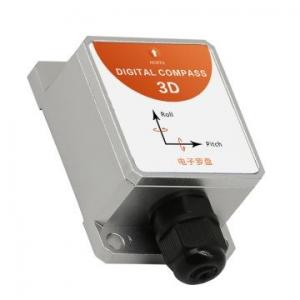 China 3D Digital Magnetic Compass DC456C Heading Sensor with Pitch Roll Angle RS232 RS485 TTL Output for Tower Crane Monitor on sale