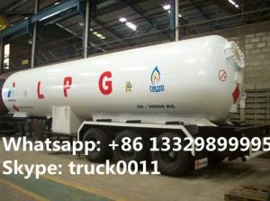 China factory price CLW bulk lpg gas trailer for sale, high quality with best price gas cooking propane tanker tailer for sale on sale