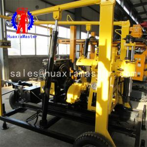 China XYX-200 China Supplier Wheeled Diamond Core Machine Water Well Drilling Rig For Sale on sale