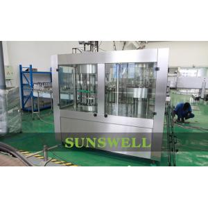 China Automatic Water Filling Machines For Liquid / PET Bottle on sale
