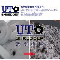 adhesive bonded fabric shredder / non-woven fabric shredder, cloth crusher, texitle recycling, waste fiber shredder