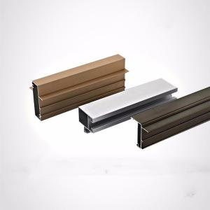 China Anodized Aluminum Extrusion Profile For Flooring on sale