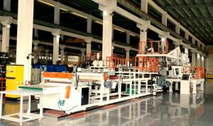 China PC, ABS Luggage  Sheet Production Line, CE Certificated, Samsonite Supplier on sale