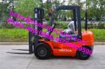 Chinese Brand 145mm Free Lift FD30 3T Diesel Lift  500mm Load Center Heli Brand Forklift