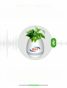 China LED Light flowerpot by  Wireless Portable Speaker Bluetooth Smart Touch Plant Piano Music on sale