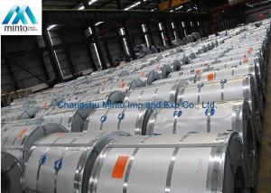 China Mini Spangle Prime Hot Dipped Galvanized Steel Coils ASTM JIS G 3302 DIN on sale
