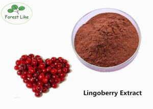China Pure Natural Lingonberry Extract Powder 30% Proanthocyanidins For Food Additive on sale