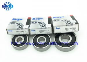 China Motorcycle 250cc Deep Groove Ball Bearing 6302 Flanged 15 * 42 * 13mm on sale