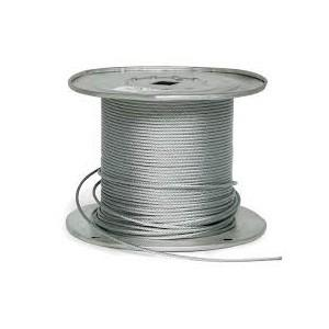 China Galvanized Steel Wire Rope , Cold Rolled Steel Cable Wire Rope 5mm-120mm on sale