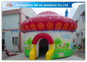 China Colorful Mushroom Play Tent Inflatable Air Tent for Trade Show Exhibition on sale