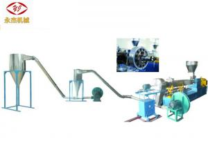 China Air Cooling Twin Screw Plastic Extruder , High Speed WPC Extrusion Machine on sale