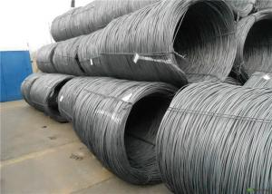 China Customized Size Sae 1008 Wire Rod , Non Alloy High Carbon Wire Rod on sale
