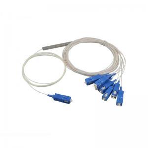China G657A Type PLC Fiber Optic Splitter For Lan And CATV System 1260-1650nm Wavelength on sale