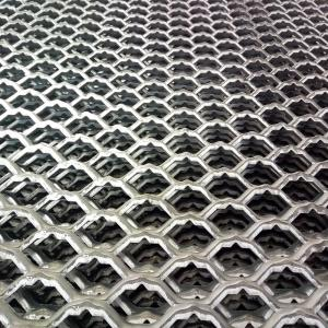 China galvanized expanded metal walkway / diamond hole expanded metal sheet on sale