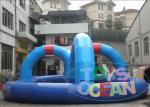 Pista que compite con comercial popular del PVC de la pista que compite con de los kartes para los juegos interactivos inflables de los niños para la bola de Zorb