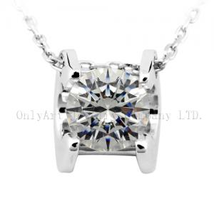 China cheap and good quality AAA CZ inlaid best gift for girl 925 sterling silver necklace on sale