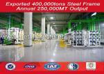 Pre - Engineered Steel Building Workshop Construction Light Metal Water Proofing