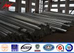 China Polygonal 33KV 12m Electrical Transmission Steel Utility Pole With Cross Arms wholesale
