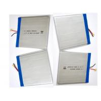 Super Slim Polymer Lithium Battery Pack With Pure LiNiMn Materials , 2.8x80x93mm