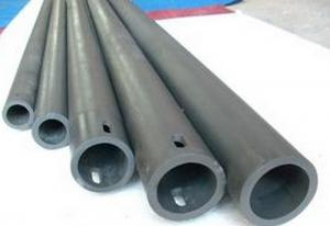 China SiSiC Silicon Carbide Pipe / Silicon Carbide Roller Wear Resistance Customized on sale