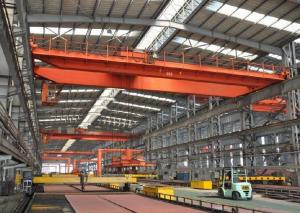 China Electromagnetic Revolving Overhead Crane with Carrier Beam/magnet overhead crane/electromagnet crane on sale
