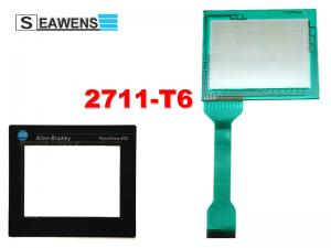 China 2711-T6C9L1 touch screen + membrane keypad (2711-T6) For Allen Bradley HMI Repair on sale